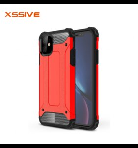 iPhone 12/12 Pro Anti-Shock back cover Rood