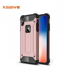 iPhone X & XS Anti-Shock back cover Rose Goud