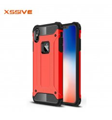 iPhone X & XS Anti-Shock back cover Rood
